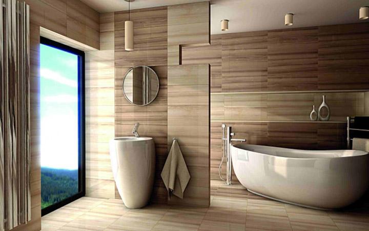 Mojabudowapl Wpis Płytki Drewnopodobne Do łazienki